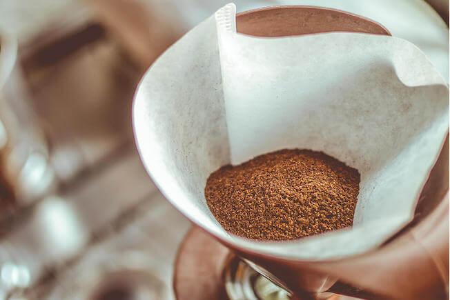 Kopi Luwak Zubereitung Filterkaffee