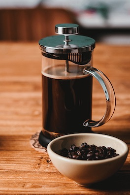 Kopi Luwak Zubereitung French Press