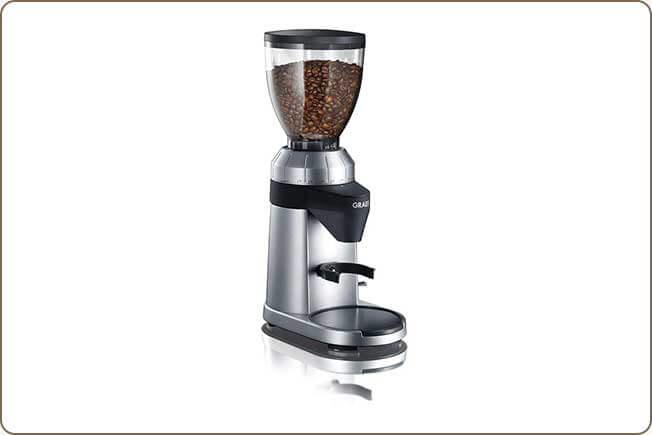 Kopi Luwak zubereiten Graef Kaffeemühle CM 800
